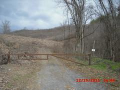 Mine gate