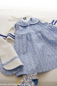 baby dress bib socks and jacket by McArt