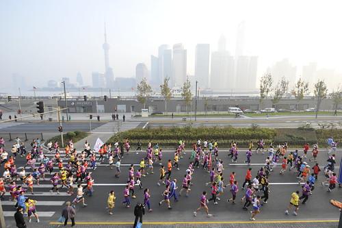 Shanghai Half Marathon 2011