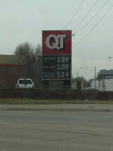 Gas under $3.00