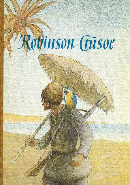 an analysis of the effects of solitude in robinson crusoe by daniel defoes Robinson crusoe: the novel robinson crusoe, by daniel defoe, was first published in 1719.