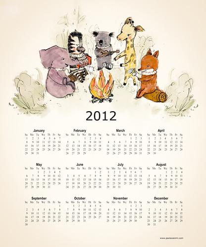 calendario 2012 by Paola Zakimi