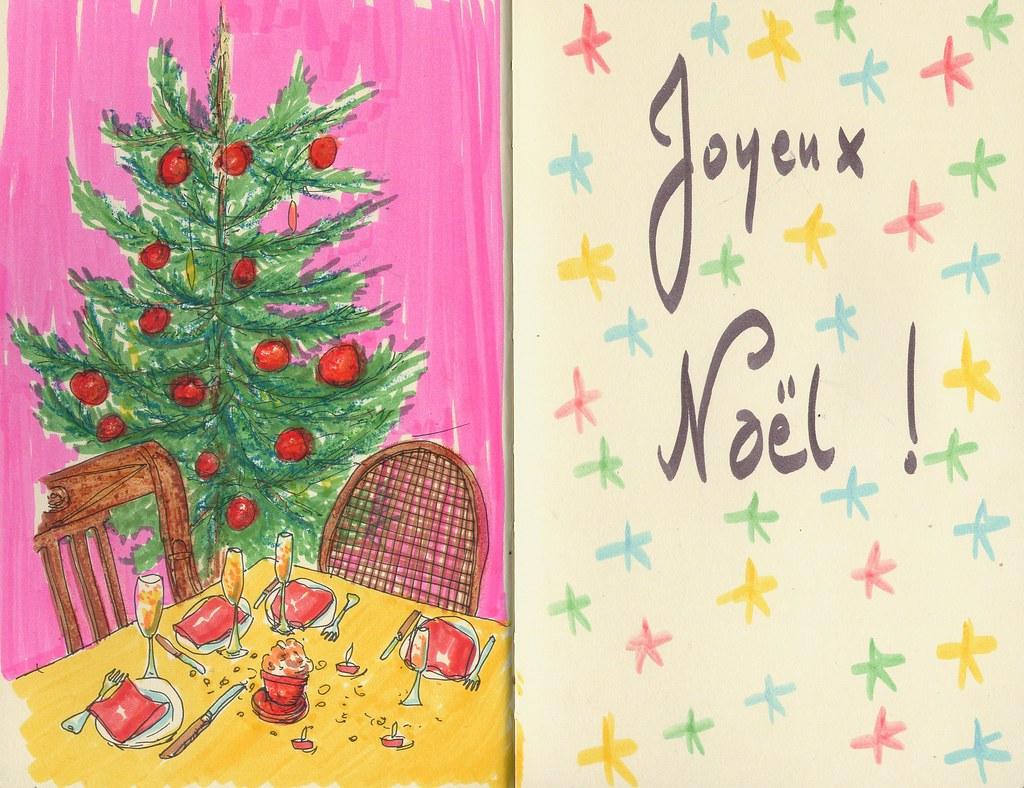 """SKETCHBOOK """"Joyeux Noël !"""" ©"""