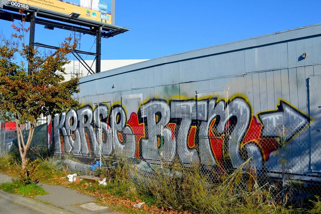 KERSE, BTM, Graffiti, Oakland, Street Art