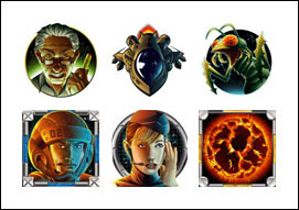 free Outta Space Adventure slot game symbols