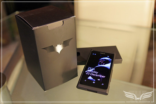 The Establishing Shot: Nokia Lumia 800 Dark Knight Rises Batphone & Packaging Bane Screen Lock by Craig Grobler