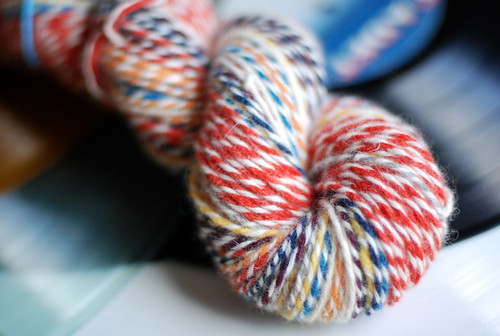 recycled spun yarn