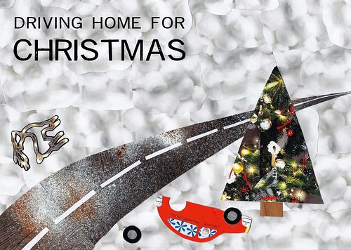 Driving home for Christmas artwork