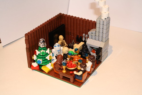 Skywalker's Christmas dinner