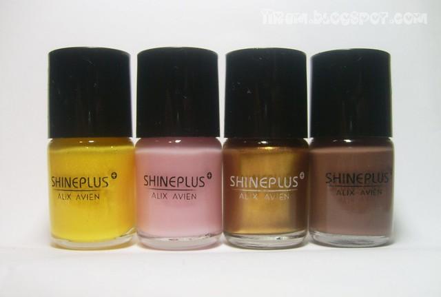 Soldan Sağa :Alix Avien ShinePlus 60 , 230 , 160 , 200