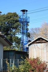 手島の火の見櫓(熊谷市・旧大里町)