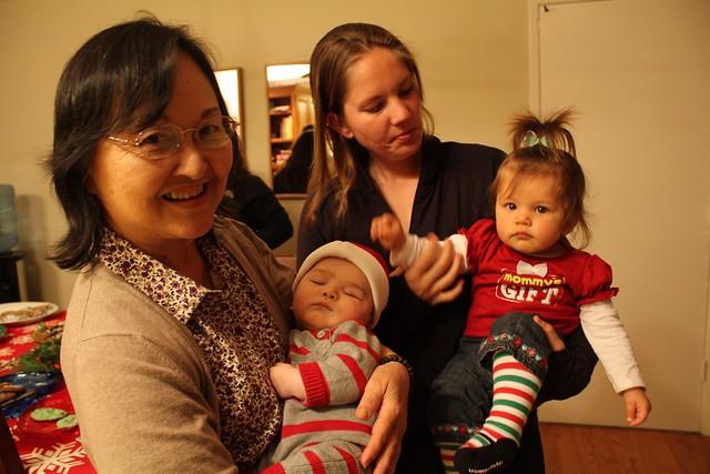 Mom, Vince, Carrie, Lilia