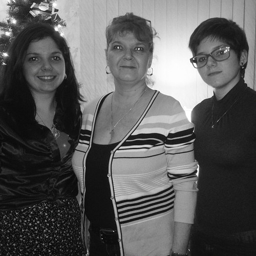 My mom sister and i