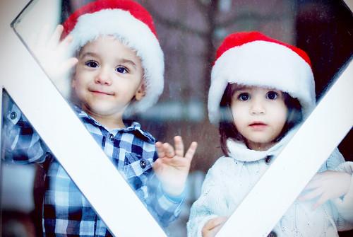 無料写真素材, 行事・イベント, クリスマス, 子供  男の子, 子供  女の子, 兄弟・姉妹, 人物  二人, マケドニア人