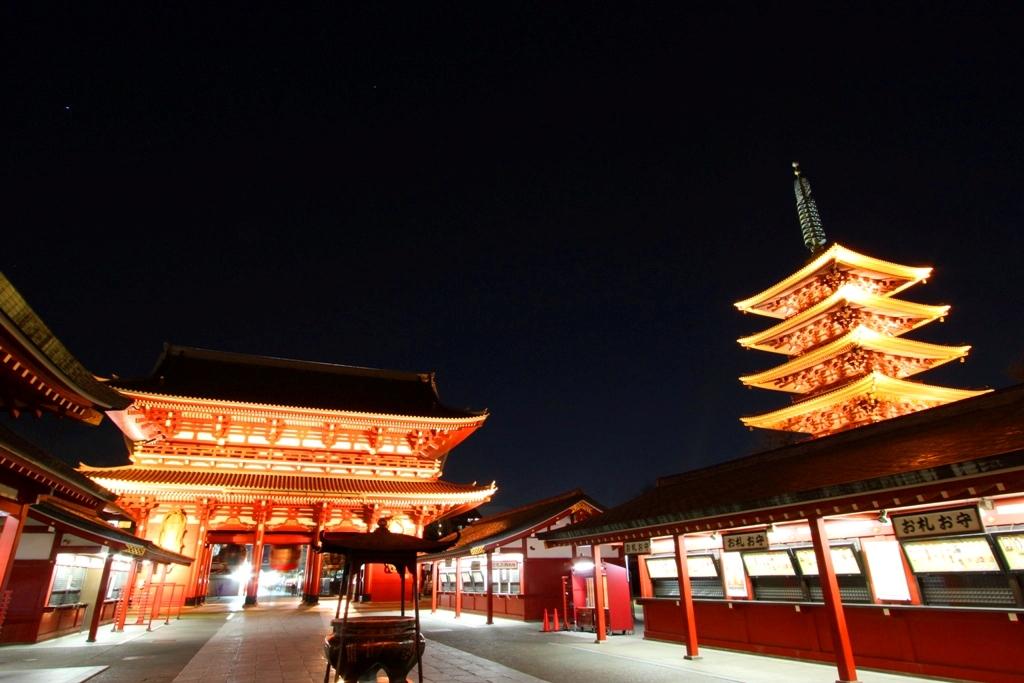 Asakusa Night View Photo (8)