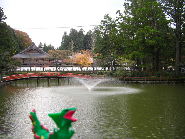 Photo:Rayquaza in Koya,Wakayama 64 (Kongobuji Temple) By Kasadera