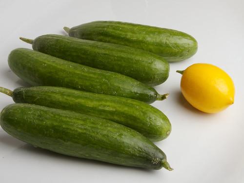 Cucumber Martinis 1