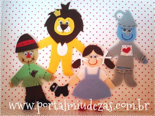 "*Ü* Apliques ""O Mágico de Oz"" by Miudezas *Ü* by miudezas_miudezas"