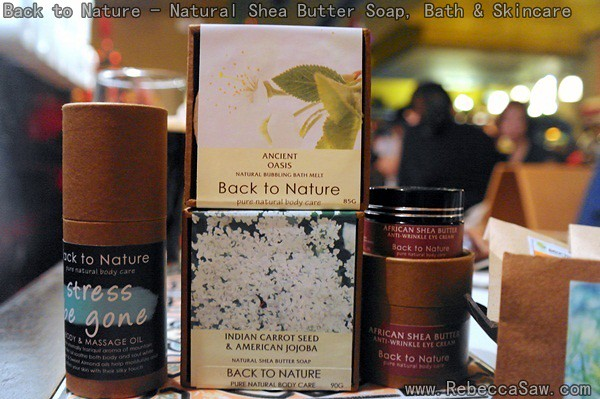 back to nature - Natural Shea Butter Soap, Bath & Skincare-002