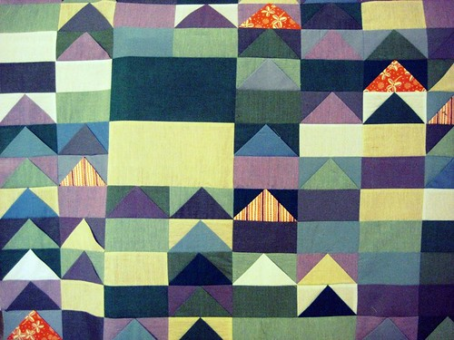 Flying Geese Quilt Top by berlinquilter