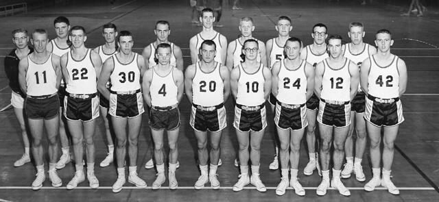 Men's Basketball Team - 1959-1960 | Flickr - Photo Sharing!