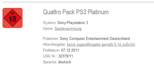 SCEE To Launch Quattro Pack Platinum For PlayStation 3