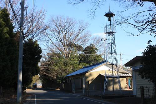 中分の火の見櫓(上尾市)