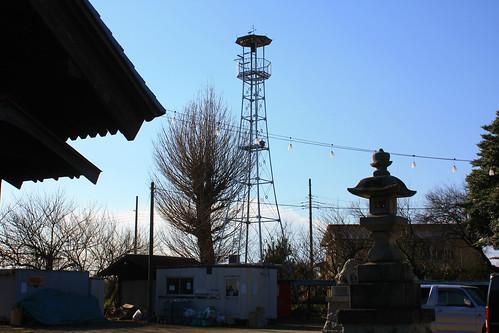 藤波の火の見櫓(上尾市)