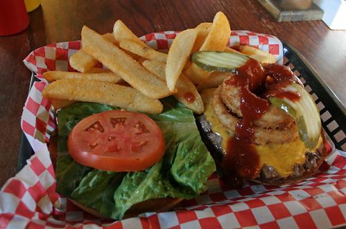 Hazmat burger