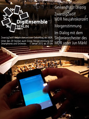 DigiEnsemble Berlin bei ZwanzigZwölf - Neujahrskonzert zum 20. Geburtstag des MDR