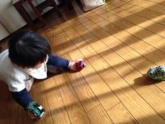 おもちゃで遊ぶ(2011/12/31)