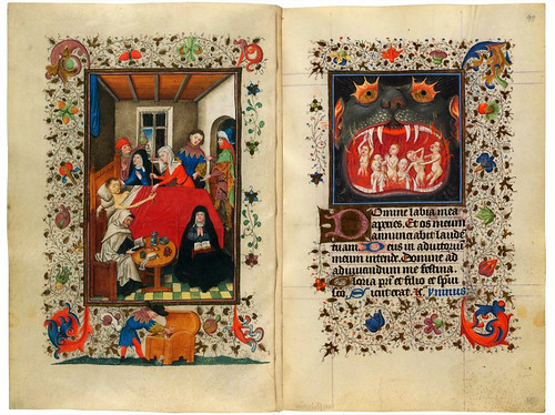 008-The Hours of Catherine of Cleves- alrededor de 1440 - MSS M.917p. 180-M.945 f. 97r -© The Morgan Library & Museum