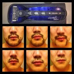 Progression of a Beard