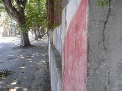 Veredas rotas y muros pintados
