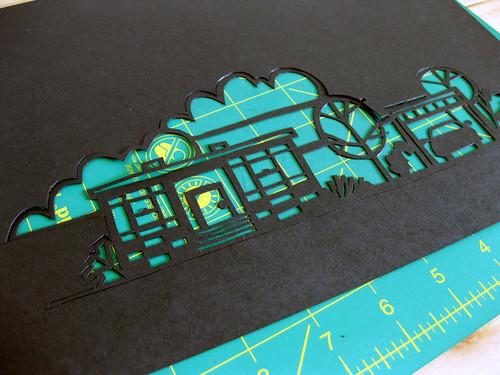 VitaModern paper cutting