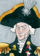 Tiny Paintings: Lord Nelson