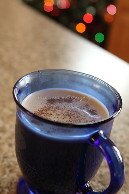 egg nog chai