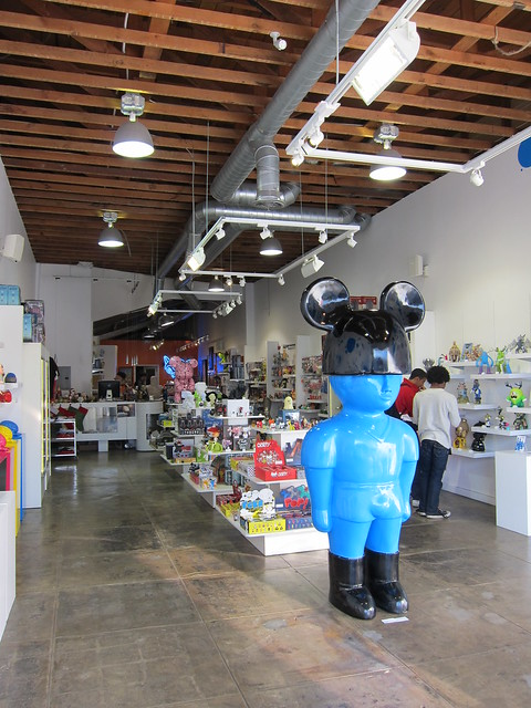 Toy Vacation: Toy Art Gallery