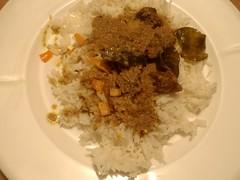 Oksekød ala rendang