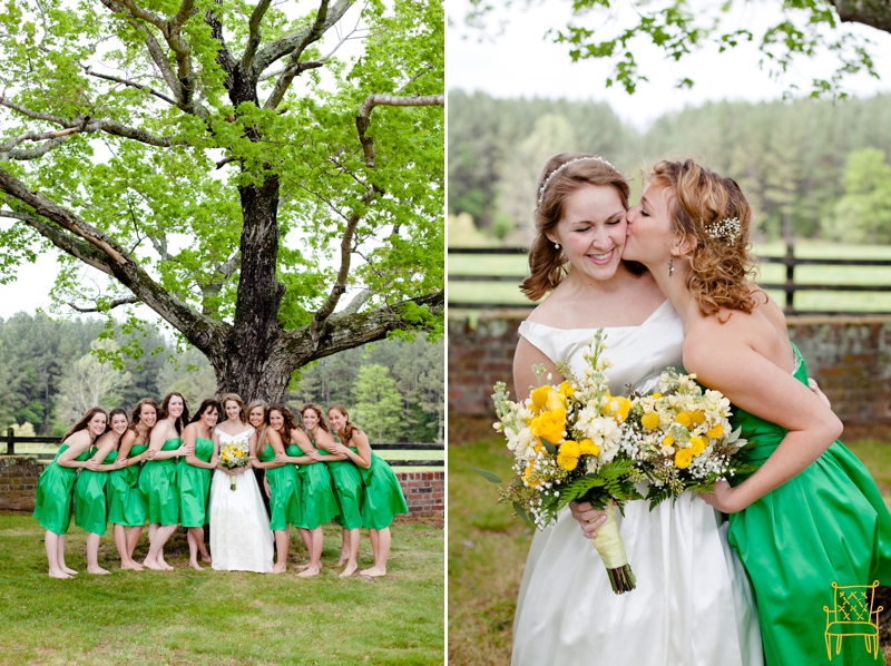 gray and yellow outdoor vintage wedding_035