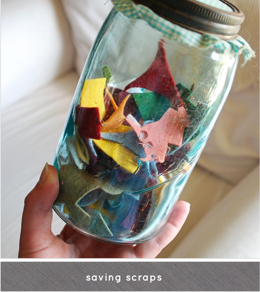 saving scraps