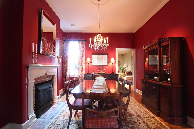 Seeing Red: Launching into a Dining Room Makeover - Old Town ...