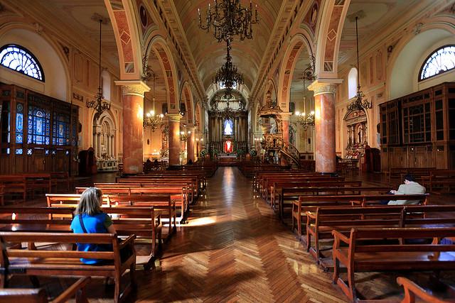 Basilica de la Merced, interior