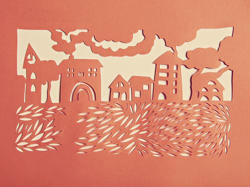 Maisons 1 by un amour de papier