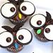 Owl Cupcakes by Recipe Snob