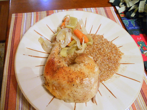 Citrus Fennel Pollen Roast Chicken