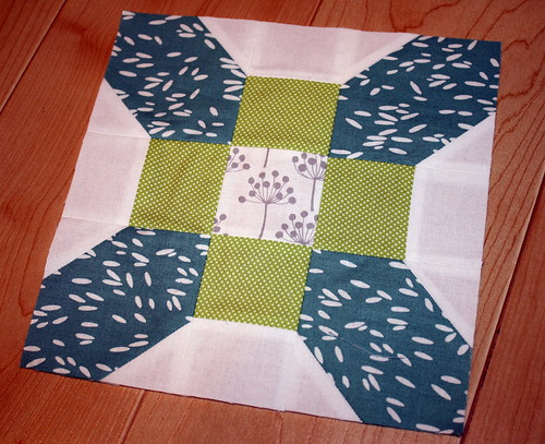 Center Square for BMQG Round Robin Quilt