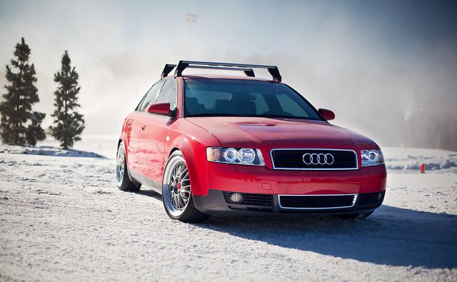 ST8 Wheels Audi B6
