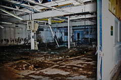 De La Rue / Harrisons & Sons Machine Room (before it was demolished)