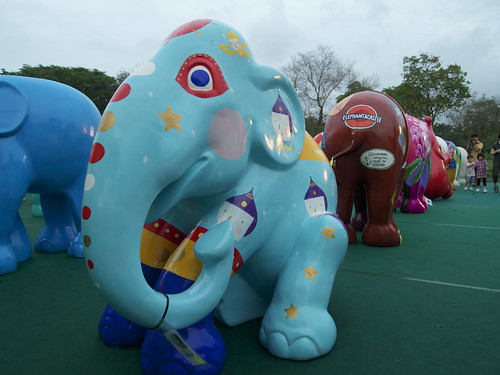 Elephant Day out at Botanic Garden